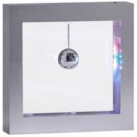 Adesso SL3982-22 Disco Ball 9 inch 0.32 watt Silver Light Box Portable Light Simplee Adesso