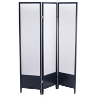 Adesso Toronto Folding Screen in Black WK2020-01 photo thumbnail