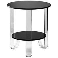 Adesso WK2067-01 Jordan 22 X 19 inch Black Accent Table