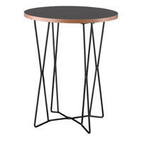 Network 18 inch Black End Table