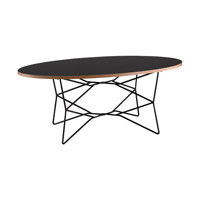 Adesso Network Coffee Table in Black WK2273-01