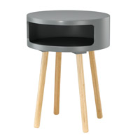 Adesso Collins Accent Table in Grey WK2338-03
