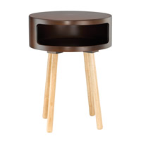 Adesso Collins Accent Table in Walnut WK2338-15