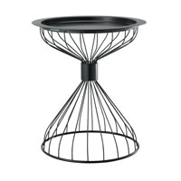 Adesso Bistro Accent Table in Black WK2446-01 photo thumbnail