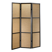 Adesso Haiku Folding Screen in Black WK3804-01