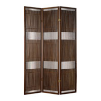 Adesso Ashville Folding Screen in Walnut WK3806-15 photo thumbnail