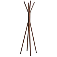 Toby 68 inch Plywood with Natural Oak Wood Veneer Coat Rack
