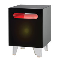 Adesso Nebula 1 Light Light Table in Black WK4040-01