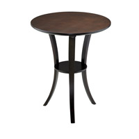 Adesso Montreal End Table in Walnut WK4610-15