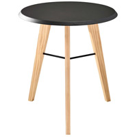 Jaxon 18 inch Black and Natural Accent Table Home Decor