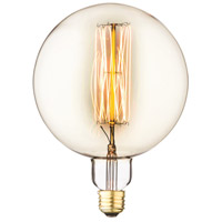 Edison Filament Amber Incandescent Oversized Bulb