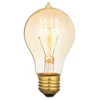 Aspen Brands A60-23 Edison Filament Amber Incandescent Oversized Bulb