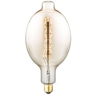 Ribbon Filament Amber Incandescent Oversized Bulb