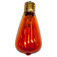 Edison Amber String Light Replacement Bulb