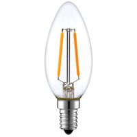 Aspen Brands LEDB112W22 All-purpose Clear LED Replacement Bulb Commercial