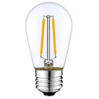 Aspen Brands LEDS14C27 All-purpose Amber LED Replacement Bulb