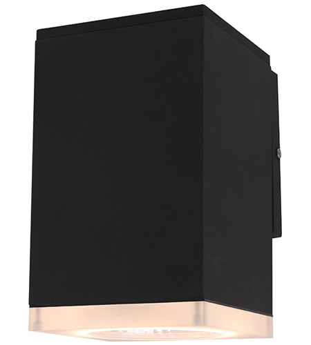 Avenue Lighting AV9890-BLK Signature LED 8 inch Black Outdoor Wall Mount photo thumbnail