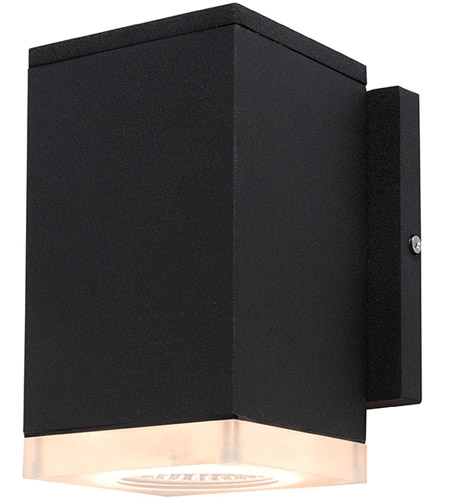 Avenue Lighting AV9891-BLK Signature LED 6 inch Black Outdoor Wall Mount photo thumbnail