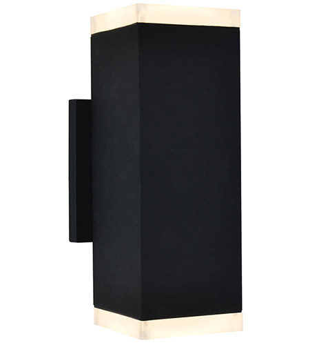Avenue Lighting AV9894-BLK Signature LED 10 inch Black Outdoor Wall Mount photo thumbnail