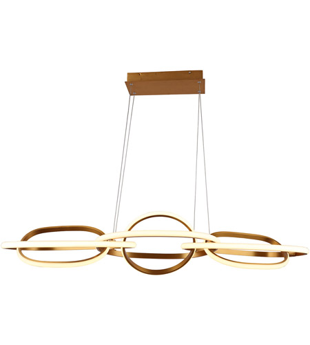 Circa Led 21 Inch Gold Hanging Pendant