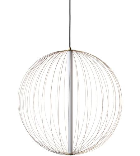 Avenue Lighting Hf8210 Gl Delano Led 24 Inch Gold Hanging Chandelier Ceiling Light