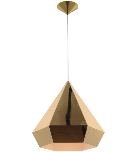 Avenue Lighting Hf9115 Gl Doheny Ave 1 Light 14 Inch Gold Pendant Ceiling Photo