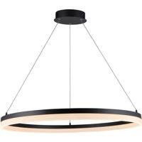 Avenue Lighting HF5028-BK Circa LED 31 inch Black Hanging Pendant Ceiling Light 35W
