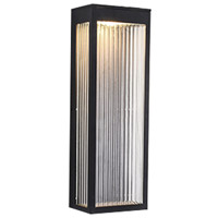 Avenue Lighting AV9902-BLK Avenue Outdoor LED 6 inch Black Wall Sconce Wall Light