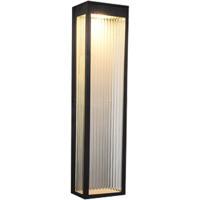 Avenue Lighting AV9903-BLK Avenue Outdoor LED 6 inch Black Wall Sconce Wall Light