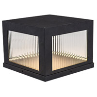 Avenue Lighting AV9904-BLK Avenue Outdoor LED 12 inch Black Pillar Mount