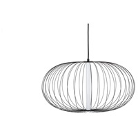 Avenue Lighting HF8212-BK Delano LED 28 inch Black Hanging Chandelier Ceiling Light