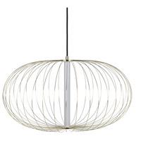Avenue Lighting HF8212-GL Delano LED 28 inch Gold Hanging Chandelier Ceiling Light