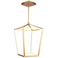 Avenue Lighting HF9401-GLD Park Ave. LED 17 inch Gold Hanging Chandelier Ceiling Light