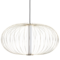 Avenue Lighting HF8213-GL Delano LED 20 inch Gold Hanging Chandelier Ceiling Light