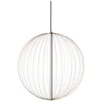 Avenue Lighting HF8211-GL Delano LED Gold Hanging Chandelier Ceiling Light