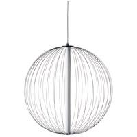 Avenue Lighting HF8211-BK Delano LED Black Hanging Chandelier Ceiling Light