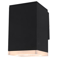 Black Acrylic Signature Outdoor Wall Lights