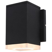 Avenue Lighting AV9891-BLK Avenue Outdoor LED 6 inch Black Outdoor Wall Mount photo thumbnail