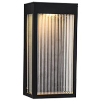 Avenue Lighting AV9901-BLK Avenue Outdoor LED 6 inch Black Wall Sconce Wall Light