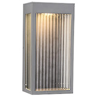 Avenue Lighting AV9901-SLV Avenue Outdoor LED 6 inch Silver Wall Sconce Wall Light