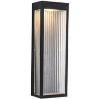 Avenue Lighting AV9902-BLK Avenue Outdoor LED 6 inch Black Wall Sconce Wall Light