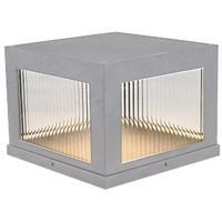 Avenue Lighting AV9904-SLV Avenue Outdoor LED 12 inch Silver Pillar Mount