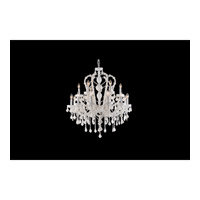 Avenue Lighting Casablanca Way 18 Light Chandelier in White with White Crystal HF1040-WHT