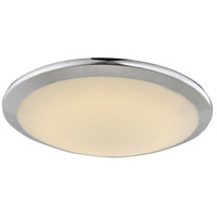 Cermack St LED 12 inch Polished Chrome Flush Mount Ceiling Light