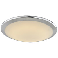 Cermack St LED 15 inch Polished Chrome Flush Mount Ceiling Light