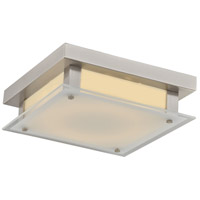 Cermack St LED 12 inch Brushed Nickel Flush Mount Ceiling Light