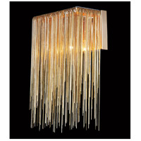 Avenue Lighting HF1200-G Fountain Ave LED 8 inch Gold Wall Sconce Wall Light