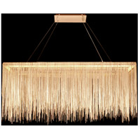 Avenue Lighting HF1201-G Fountain Ave LED 12 inch Gold Hanging Chandelier Ceiling Light