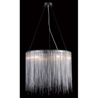 Avenue Lighting Fountain Avenue 8 Light Pendant in Chrome HF1202-CH