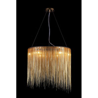 Avenue Lighting Fountain Avenue 8 Light Pendant in Gold HF1202-G